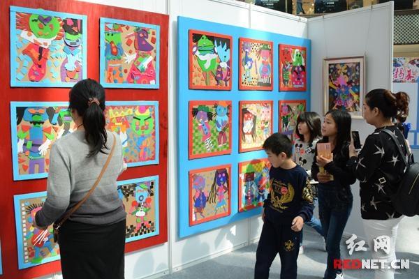 中美日少儿视觉艺术全球巡展长沙举行 感受童趣